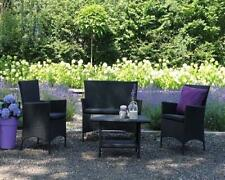 Poly Rattan Gartenmöbel Lounge Set Gartengarnitur Essgruppe Sitzgruppe Paris