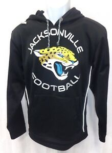 Jacksonville Jaguars Football Performance Hooded Sweatshirt Black