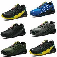 NEW Men's Hiking Shoes Outdoor Trekking Sneaker Sports Speedcross4 Running AAA
