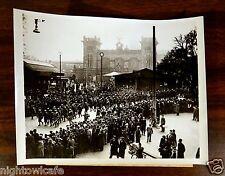 ITALIAN TROOPS ARRIVE IN THE SAAR SAARBRUECKEN GERMANY 1935 Press Photo