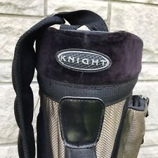Knight Black and Gold Size 3-Way Lightweight Cart Golf Bag
