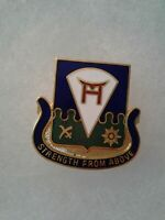 Authentic US Army 511th Infantry Regiment DI DUI Unit Crest Insignia NH