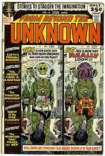 From Beyond the Unknown 13 November, 1971 Very Good  Bronze Age DC Comic