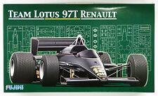 Fujimi GP03 F1 Team Lotus 97T Renault 1985 1/20 scale kit