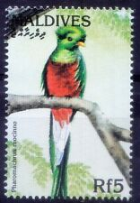 Maldives 1997 MNH, Birds, Resplendent Quetzal (Pharomachrus mocinno)  - X59