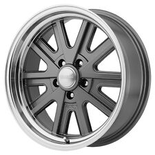 "4-NEW American Racing VN527 17x7 5x114.3/5x4.5"" +0mm Mag Gray Wheels Rims"