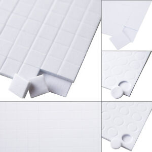 DOUBLE SIDED ADHESIVE FOAM PADS 5mm 6mm 10mm 15mm STICKY FIXERS FOR CARD CRAFT