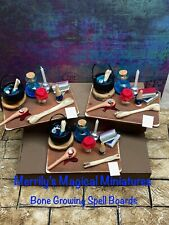 More details for dolls house witches 1/12 bone growing spell board merrily's magical miniatures