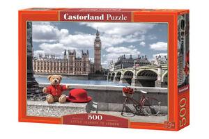 Puzzle 500 pieces petite journée a Londre 47x33cm neuf de marque Castorland