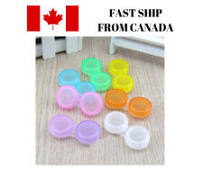 Contact Lens Case Holder Portable Travel Eye Care Contact Cases Container NEW