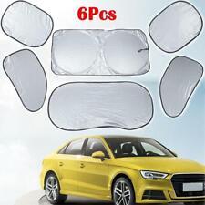 6Pc/set Car Windshield Sun Shade Protector Visor Auto Window Shield Blinds Front