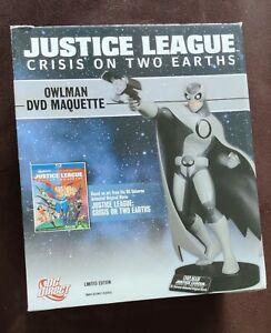 DC DIRECT JUSTICE LEAGUE CRISIS ON TWO EARTHS OWLMAN MAQUETTE LE 0520/4000