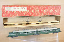 MARKLIN MäRKLIN DL 800 GREEN DOUBLE E-LOK LOCOMOTIVE BOXED 1952 VERSION nl