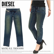 Diesel Regular Size Distressed Jeans for Women