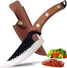 Japanese Hand Forged Cleaver Stainless Steel Boning Knife Kitchen Cooking Knives