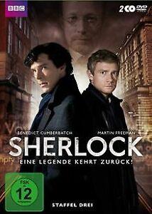 Sherlock - Staffel 3 [2 DVDs] von McGuigan, Paul   DVD   Zustand gut