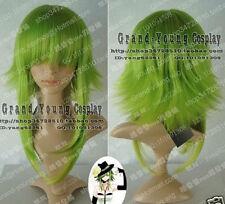Caliente!!! Vocaloid Gumi Cosplay hierba verde Peluca Envío Gratis