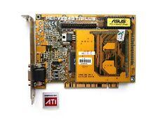 PCI vintage videocard ASUS PCI-V264GT/PLUS - 4MB - ATI 3D Rage II +DVD + M264GT
