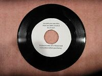 """Original Rock Soul Pop 45 rpm's from 50s to 80s - 1.25 each - """"A to F"""""""