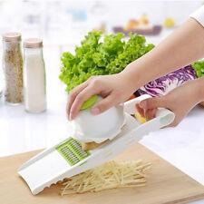 Adjustable Mandoline Vegetable Fruit Slicer Dicer Cutter Chopper Grater Durable