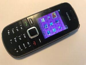 Nokia 1661-2 - Black (Unlocked) Mobile Phone 1661 - Fully working & Tested