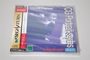 Virtua fighter CG Portrait Kage Maru Japan Sega Saturn game New / Sealed
