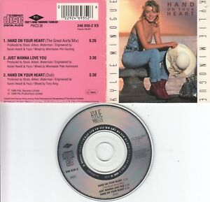 Kylie Minogue  CD-SINGLE  HAND ON YOUR HEART   ( 3inch )