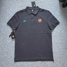 Nike FC Barcelona NSW Crest Mens Mesh Polo Shirt Size Medium - $65