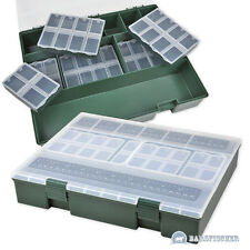 XL CARP SYSTEM TACKLEBOX MIT 6 VERSCH. BOXEN, TACKLE BOX, KARPFENBOX, ZUBEHÖR