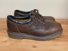 Dr. Martens Crazy Horse Brown Leather Casual Shoe 8059 Men's Size 10 Retail $125