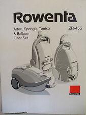Rowenta ZR455 Papieraustauschfilter
