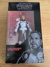 Star Wars Black Series Exclusive Clone Commander Obi-Wan Kenobi sealed SDCC