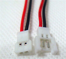 20setsx For Walkera Battery 2-Pin Connector Male , Female with wire