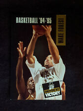 1994-95 Wake Forest Demon Deacons Basketball Schedule  - Randolph Childress