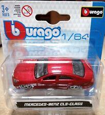 """METAL Scala 1:64 Bburago 59000 Mercedes-Benz CLS-Class /""""Met Red/"""""""