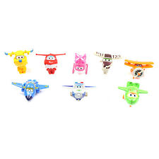 Super Wings Figures Toys Airplanes 8 Pcs (6cm - 8cm Approx)