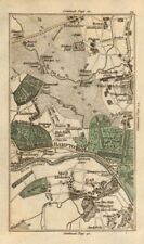 Hounslow Twickenham teddington hanworth Hampton molesey Thames Ditton 1786 Mappa
