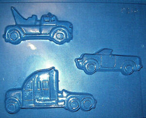 TOW TRUCK UTE AND 18 WHEELER CHOCOLATE MOULD OR PLASTER MOULD