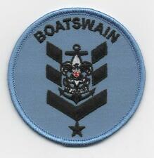 """Sea Scout Boatswain Position (New Design!), 3"""" Round, """"BSA 2010"""" Back, Mint!"""