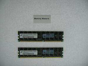 413153-861 8GB 2X4GB Approved PC2700 DDR ECC for HP Proliant Server DL585 BL45P