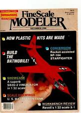 FINE SCALE MODELER MAGAZINE - December 1988