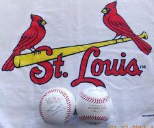 Lance Lynn autographed Rawlings 2013 Wold Series MLB Baseball