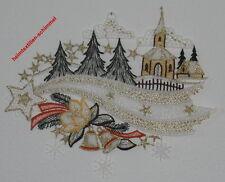 PLAUENER SPITZE Fensterbild STERNENSCHWEIF Fensterbilder STERNE Weihnachten NEU