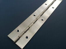 PIANO HINGE STAINLESS STEEL CABINET BOAT 600mm X 40mm CONTINUOUS HINGES