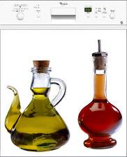 Adesivo lavastoviglie decocrazione cucina Olio Aceto 60x60cm ref 053
