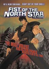 Fist Of The North Star . The Movie . Anime . DVD . NEU . OVP
