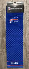 New listing Team NFL BUFFALO BILLS Hook Grommet Golf Club Hand Bag Blue Football Towel 23x16