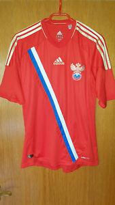 Adidas Russland Fussball Nationalmannschaft Trikot EM 2012 Home Gr. S Rot TOP WM