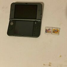 """Nintendo """"New"""" 3DS XL + 2 Games and stylus"""