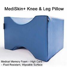 MediSkin+ Knee & Leg Pillow Cushion medical grade memory foam relief support bed